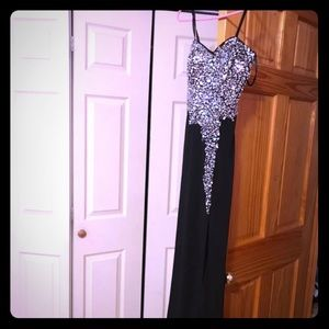 Crystal doll gown